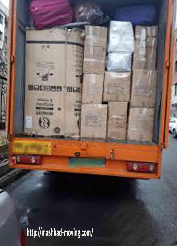 حمل اثاثیه منزل به کلیه نقاط کشور